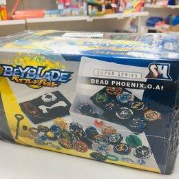 Игрушки-антистресс - Бейблейд Beyblade  волчки набор 8 шт, 0