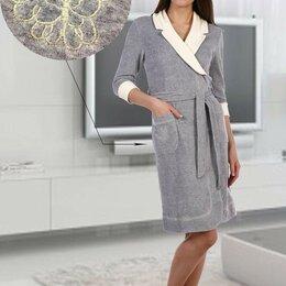 Домашняя одежда - Халат велюровый, 0