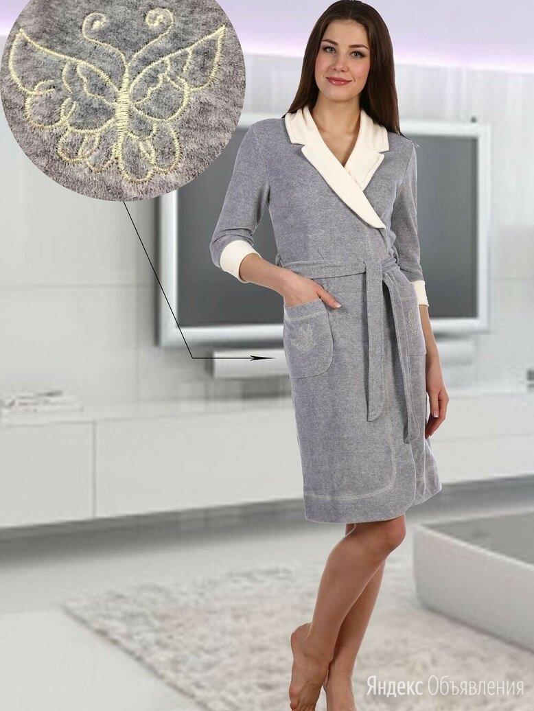 Халат велюровый по цене 1200₽ - Домашняя одежда, фото 0