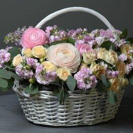 Цветы, букеты, композиции - Композиция «Летний день» - L (40см), 0