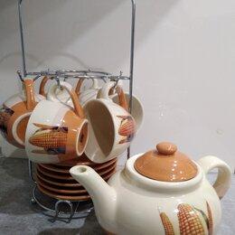 Сервизы и наборы - Чайный сервиз на 6 персон, 0
