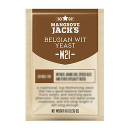 Ингредиенты для приготовления напитков - Дрожжи пивные MANGROVE JACK'S Belgian Wit M21, 0