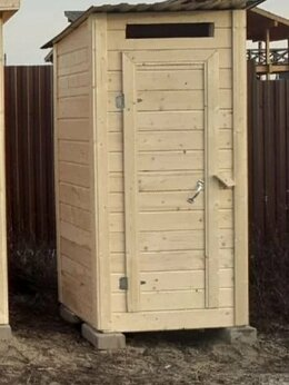 Биотуалеты - Туалет садовый из вагонки, 0
