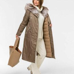 Пуховики - Зимнее пальто компании ELFINA. , 0