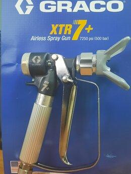 Аэрографы, краскопульты, текстурные пистолеты - Пистолет-распылитель XTR7+, 0
