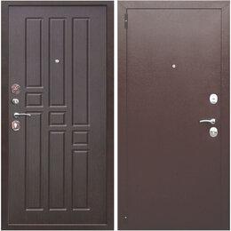 """Входные двери - Дверь входная металлическая """"Гарда 8 мм"""" венге, 0"""