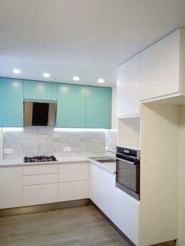 Шкафы, стенки, гарнитуры - Кухня с интегрированными ручками на фасадах, 0