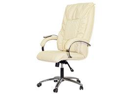 Массажные кресла - Офисное массажное кресло EGO BOSS EG1001 SE КРЕМ…, 0