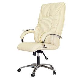Массажные кресла - Офисное массажное кресло EGO BOSS EG1001 SE КРЕМ (Арпатек), 0