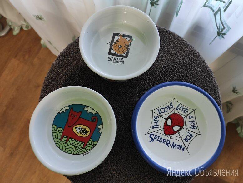 Миски керамические для питомцев по цене 300₽ - Миски, кормушки и поилки, фото 0
