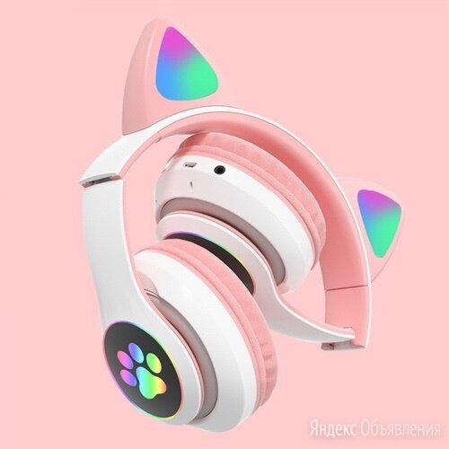 Беспроводные наушники с ушами и подсветкой по цене 1450₽ - Наушники и Bluetooth-гарнитуры, фото 0