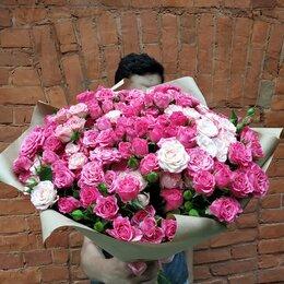 Цветы, букеты, композиции - Букет кустовых роз, 0