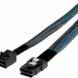 Компьютерные кабели, разъемы, переходники - 2 шт. Mini-SAS HD SFF-8643 на Mini-SAS SFF-8087, 0
