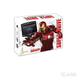 Ретро-консоли и электронные игры - Sega Super Drive 50in1 Iron Man, 0