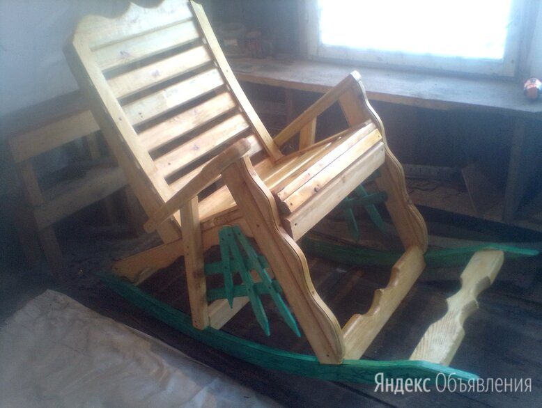Кресло качалка ,сосна по цене 7000₽ - Кресла и стулья, фото 0