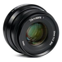 Объективы - Объектив 7artisans 35 мм F1.2 II для Nikon Z, 0