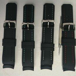 """Ремешки для часов - Кауч. анатомический ремешок с прошивкой под """"кожу"""", 0"""