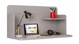 Компьютерные и письменные столы - Стол навесной Polini kids Mirum, серый, 0