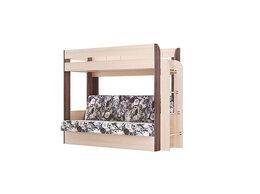 Кровати - Кровать двухъярусная Немо (без верхнего матраса), 0