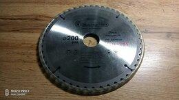 Пильные диски - Диск пильный по дереву средний пил стандарт 200мм, 0