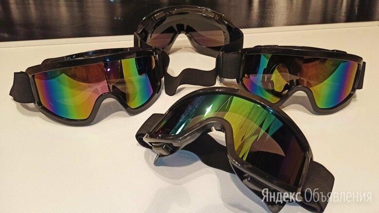 Мото очки для мотокросса эндуро по цене 400₽ - Спортивная защита, фото 0