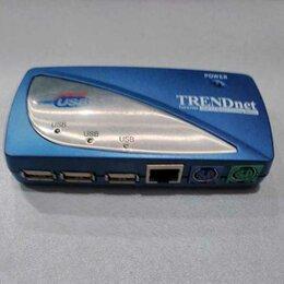 Аксессуары и запчасти для оргтехники - Док-станция мобильная USB 2.0 TRENDnet TU2-ET200, 0