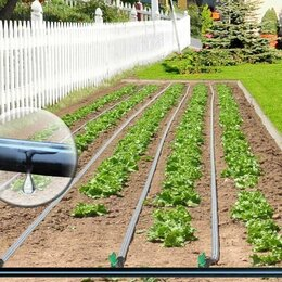 Капельный полив - Капельная эмиттерная лента полива растений Viola 25 метров шаг 10 см, 0