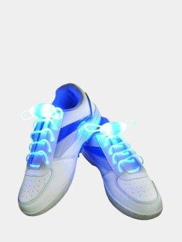 Стельки и шнурки - Шнурки светящиеся с подсветкой LED, 0