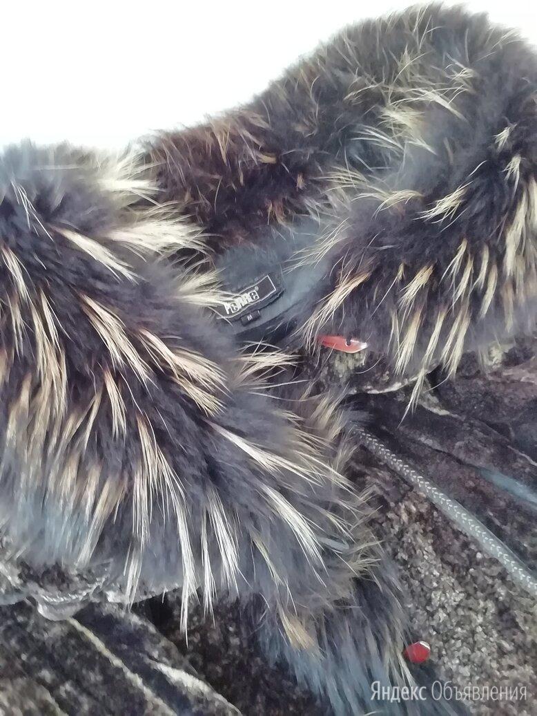 Натуральная шуба ягненок, воротник и манжеты-чернобурка по цене 9000₽ - Шубы, фото 0