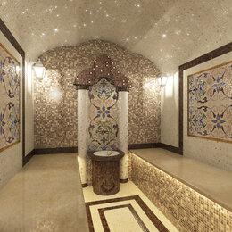 Мозаика - Мозаика в бассейн в хамам в ванную, 0