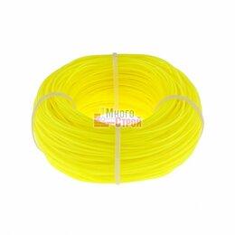 Леска и шнуры - Леска строительная, 100 м, D 1 мм, цвет желтый// Сибртех, 0