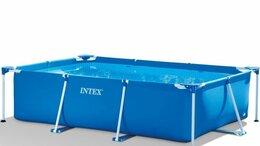 Бассейны - Каркасный бассейн Intex Rectangular Frame Pool…, 0