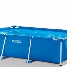 Бассейны - Каркасный бассейн Intex Rectangular Frame Pool 300 х 201 х 66 см, 0