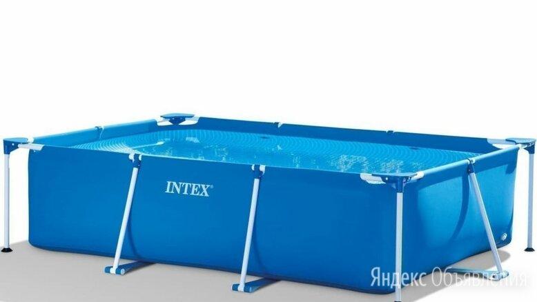 Каркасный бассейн Intex Rectangular Frame Pool 300 х 201 х 66 см по цене 12990₽ - Бассейны, фото 0