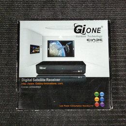 Спутниковое телевидение - Рабочий ресивер Gione s1025 приставка, 0