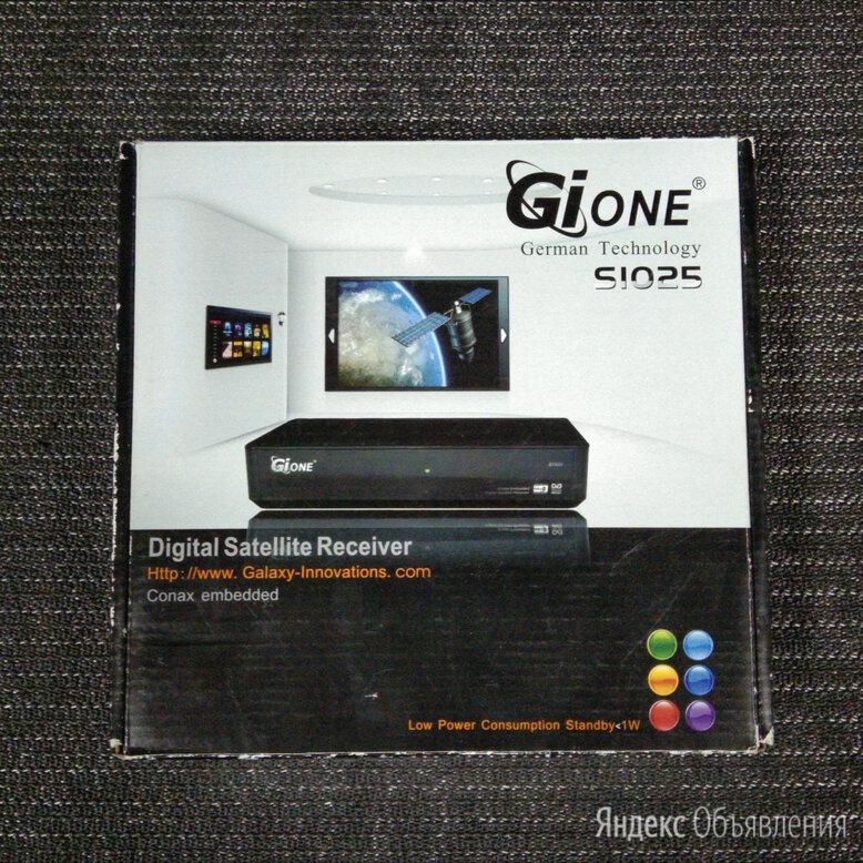 Рабочий ресивер Gione s1025 приставка по цене 500₽ - Спутниковое телевидение, фото 0