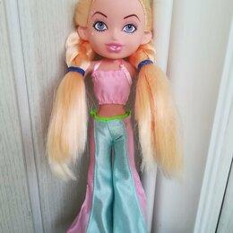Куклы и пупсы - Кукла гнутик блондинка высотой 24см, 0