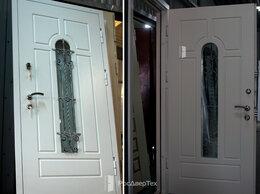 Входные двери - Дверь входная со стеклом и ковкой, дверь…, 0