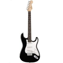 Электрогитары и бас-гитары - Электрогитара FENDER SQUIER MM STRATOCASTER HARD TAIL BLACK, 0