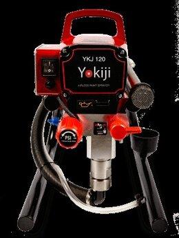 Инструменты для нанесения строительных смесей - YOKIJI YKJ 120 Безвоздушный окрасочный аппарат, 0