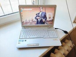 Ноутбуки - Toshiba 8-ми ядерно-поточ, i7-2670qm, Белоснежный, 0