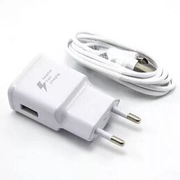 Зарядные устройства и адаптеры - Новое СЗУ iPhone 5 - 1А 1usb кабель 1м, 0