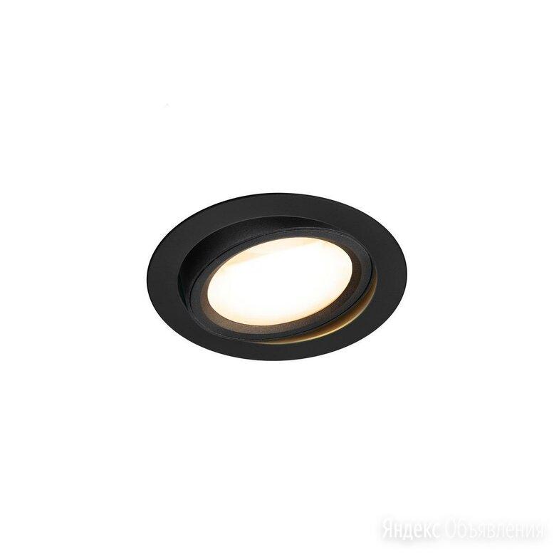 Светильник светодиодный поворотный черный Oculus 1004668 по цене 20145₽ - Настенно-потолочные светильники, фото 0