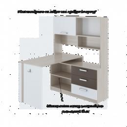 Компьютерные и письменные столы - Walker 07 Стол компьютерный, 0