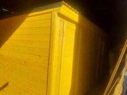 Готовые строения - Бытовка деревянная новая 6х2.30 А-486, 0