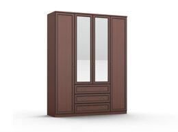 Шкафы, стенки, гарнитуры - Шкаф для одежды Volga 04 с 2-мя зеркалами и 3-мя…, 0