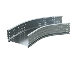 Кабеленесущие системы - DKC Угол листовой 45 градусов 100x400, 0