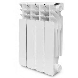 Радиаторы - Радиатор алюминиевый Oasis 350/80 6 секций, 0