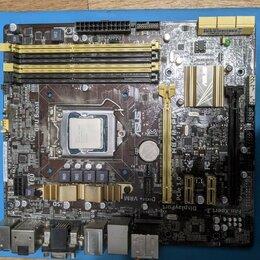 Прочие комплектующие - Связка мать asus h87m pro c процессором intel core, 0