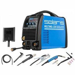 Сварочные аппараты - Сварочный полуавтомат Solaris multimig 228 TIG, 0
